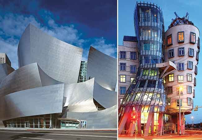 Many of architect Frank Gehry's unmistakable designs are inspired by sailing