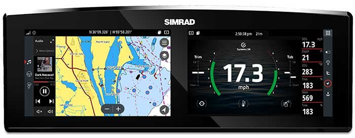 Simrad Information Display system
