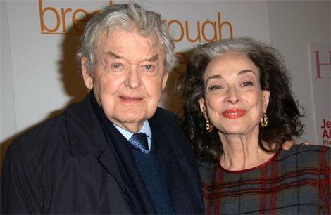 Actress Dixie Carter and husband Hal Holbrook