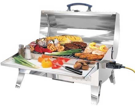 Photo of an electric grill