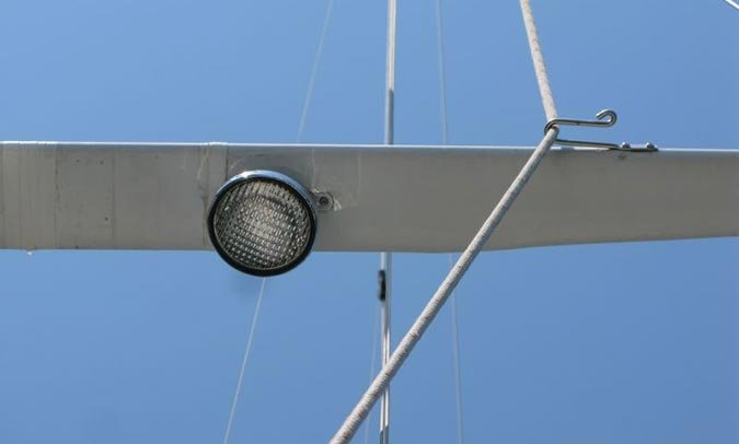 Halyard with stainless steel hook