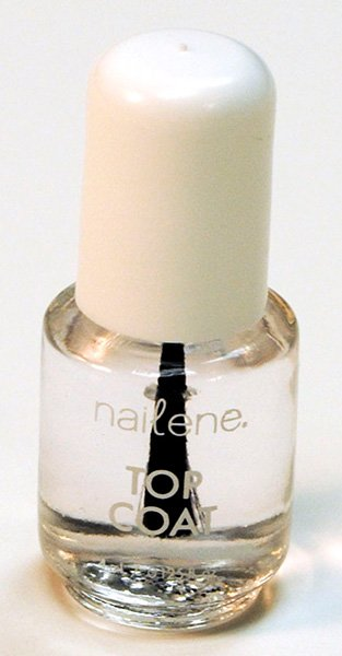 Photo of a nail polish bottle