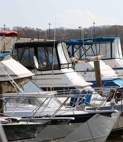 Seafarers Yacht Club docks