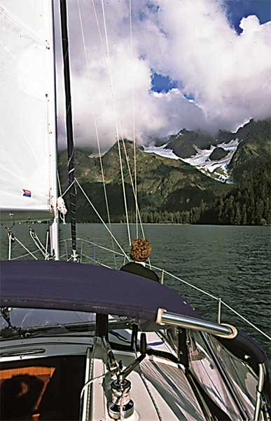 Sailing in Seaward Alaska