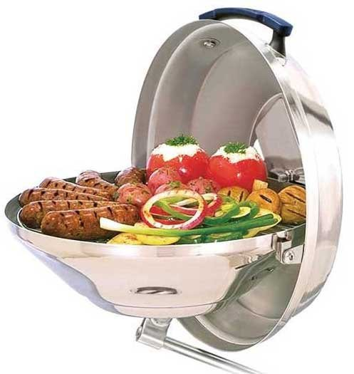 Grilling On Your Boat BoatUS Magazine - Compact grill containers