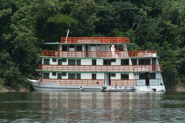 Photo of the riverboat The Otter on the Amazon River