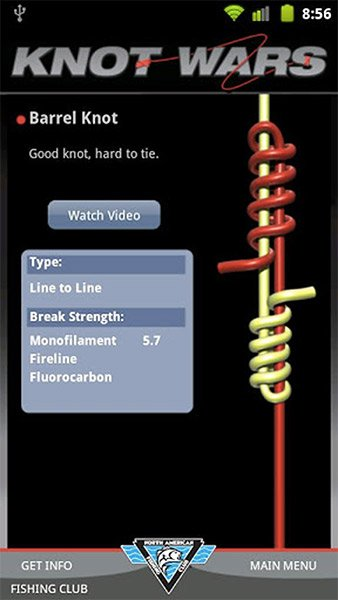 Knot Wars app screen shot