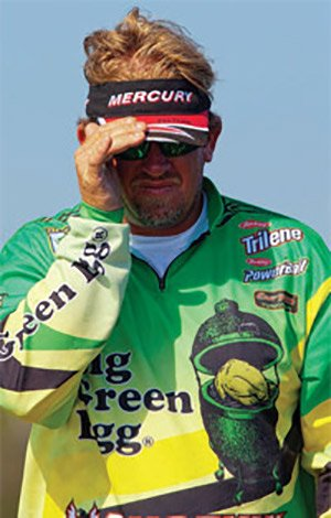 Photo of pro angler J. Todd Tucker