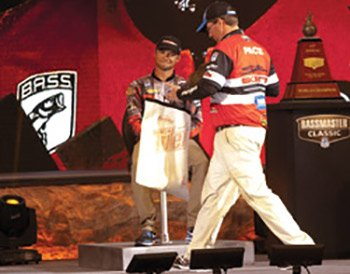 Photo of Cliff Pace at the 2013 Bassmaster Classic weigh in