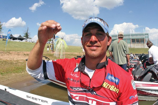 Photo of pro angler Keith Poche