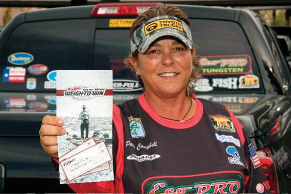 Photo of pro angler Patti Campbell