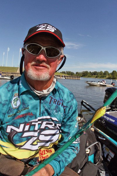 Photo of pro angler Rick Clunn