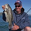 Thumbnail photo of angler Scott Green holding a bass caught on Clear Lake