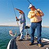 Thumbnail photo of Brian Harris and Stan Gerzsenyi Fishing in Texas