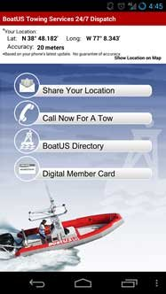 BoatUS Towing App