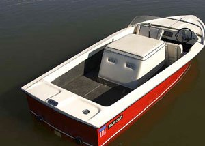 photo of a MasterCraft ski boat