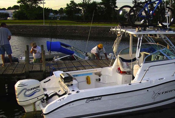 Photo of Bad Striper docked