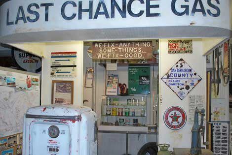 Photo of Last Chance Gas now the Route 66 Museum