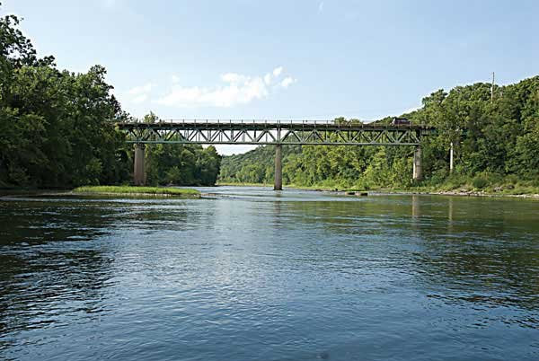 Photo of the Meramec River Bridge over Route 66