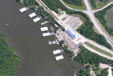 Photo of the Springfield Marina on Route 66
