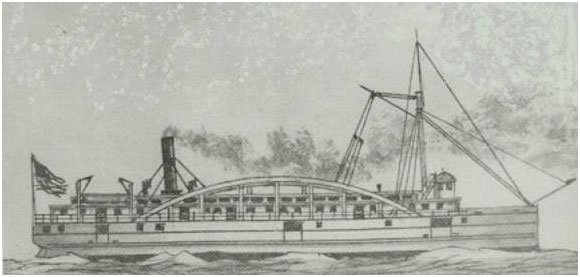 Line drawing of the Westmoreland