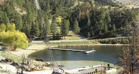 Photo of boat ramp on Lake Holter, Montana