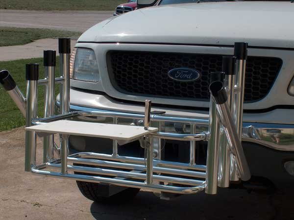 The double life of a trailer hitch trailering boatus for Truck fishing accessories