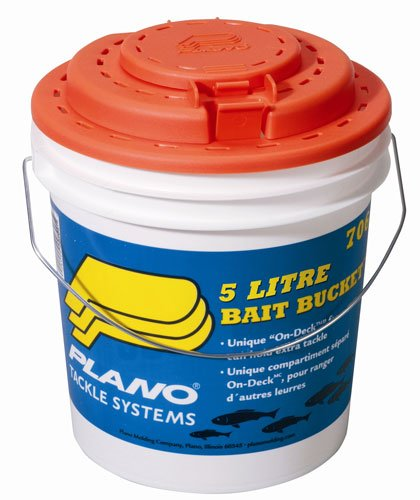 Photo of Plano Bait Bucket with tackle