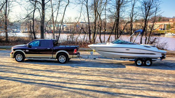tow package or not trailering guide boatus magazine rh boatus com dodge towing guide 2006 dodge towing guide 2006