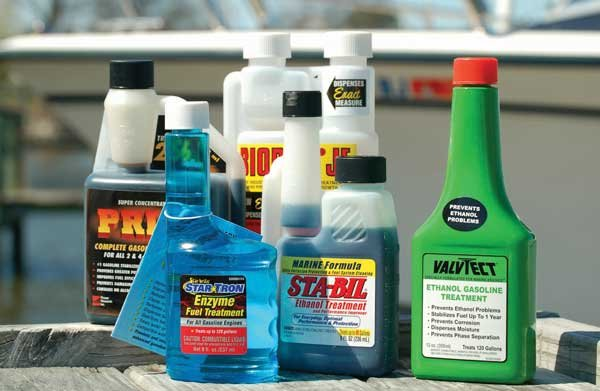 Photo of various brand of fuel additives