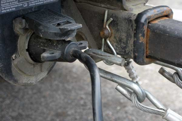 Photo of a hitch pin