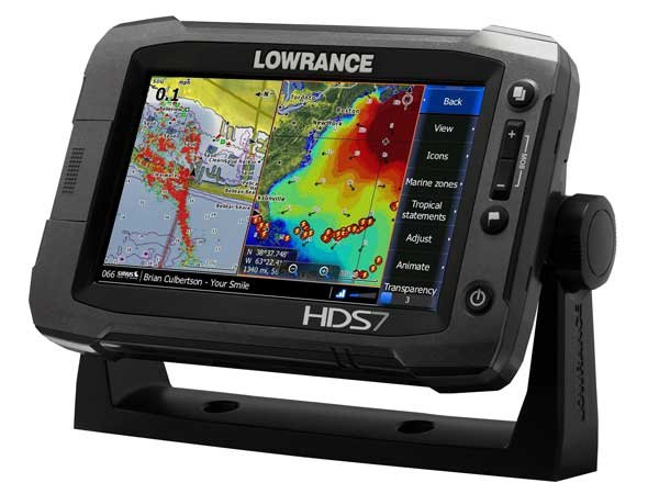 Photo of the Lowrance HDS-7 Gen2