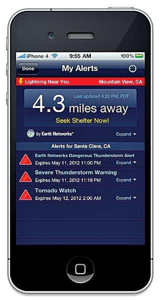 Photo of Weatherbug Elite Storm Tracker for iPhone