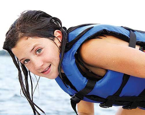 Photo of girl in lifejacket