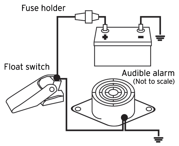 high water alarm diagram