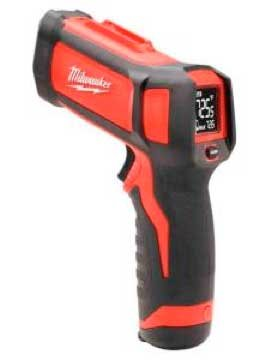 Photo of an infrared temperature gun