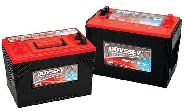 Photo of Odyssey marine batteries