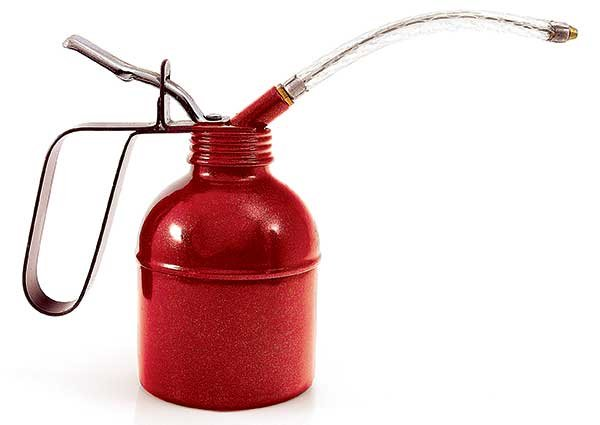 Photo of an oil can