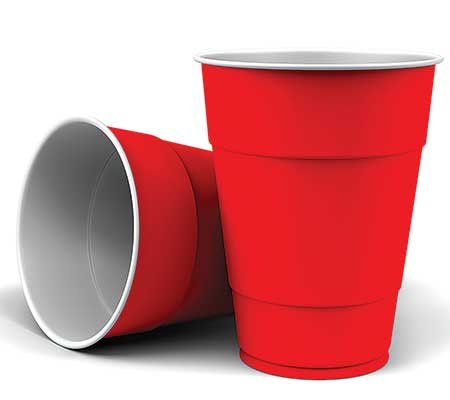 Photo of red Solo cups