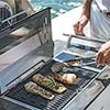 Grilling onboard
