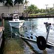 Thumbnail photo of pulling boat up ramp