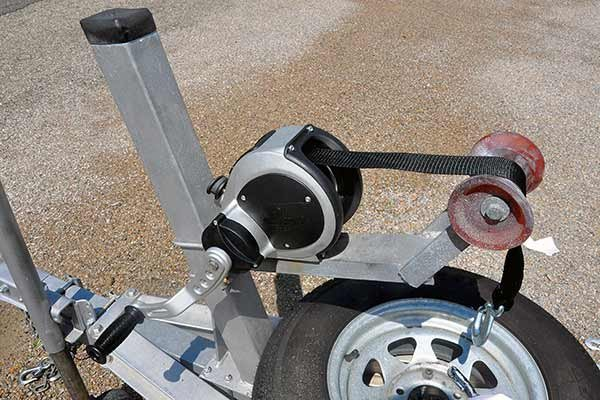 Photo of a Fulton 2-speed winch