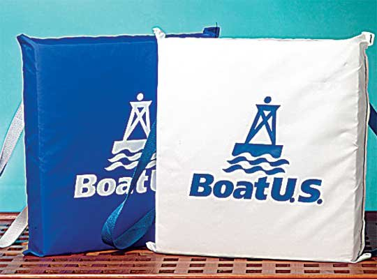 Photo of BoatUS bouyant cushions