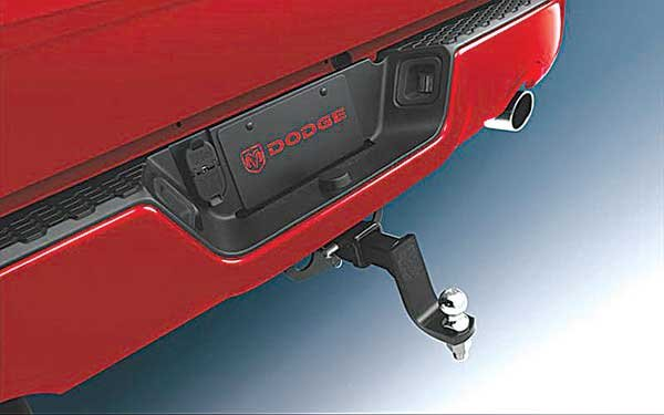 Photo of a Dodge Ram hitch