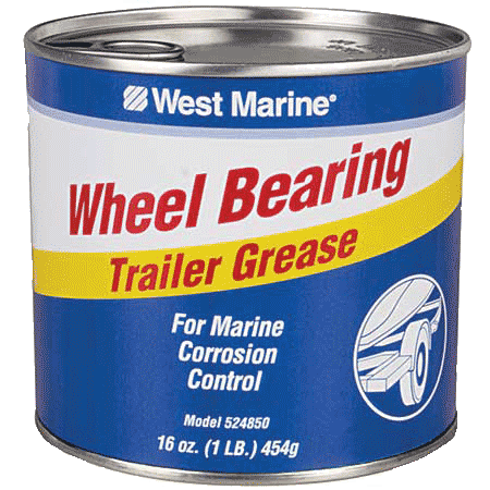 Photo of West Marine wheel bearing grease