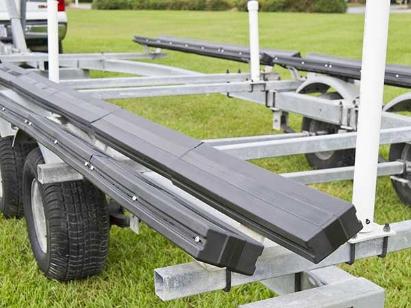 Replacing Trailer Bunk Covers - Trailering - BoatUS Magazine