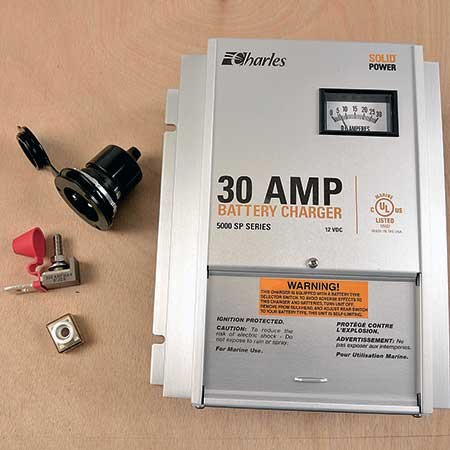 Photo of a 30 amp battery charger fuse