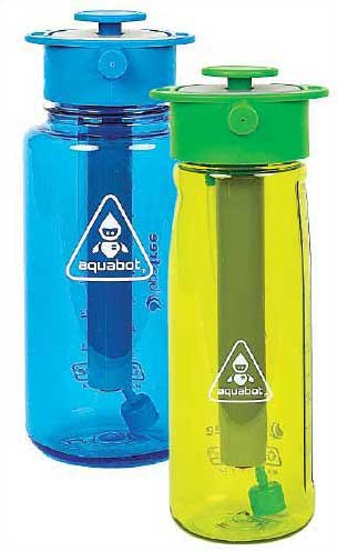 Photo of Aquabot water bottles