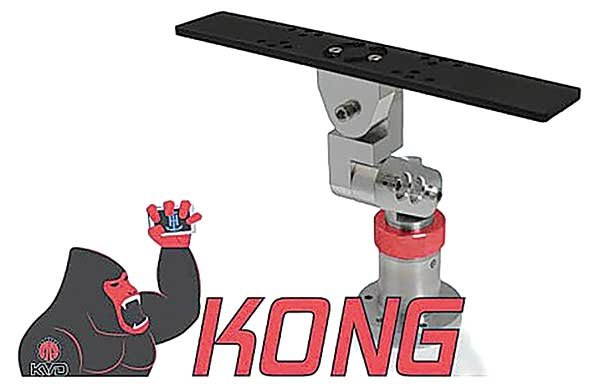 Photo of the TH Marine KVD Kong mounting bracket system