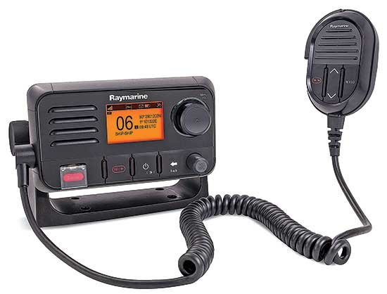 Photo of the Raymarine Ray 50 VHF radio